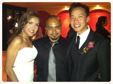 Provided Spanish guitar music for my clients wedding ceremony, cocktail hour and DJ services in Los Angeles, Ca