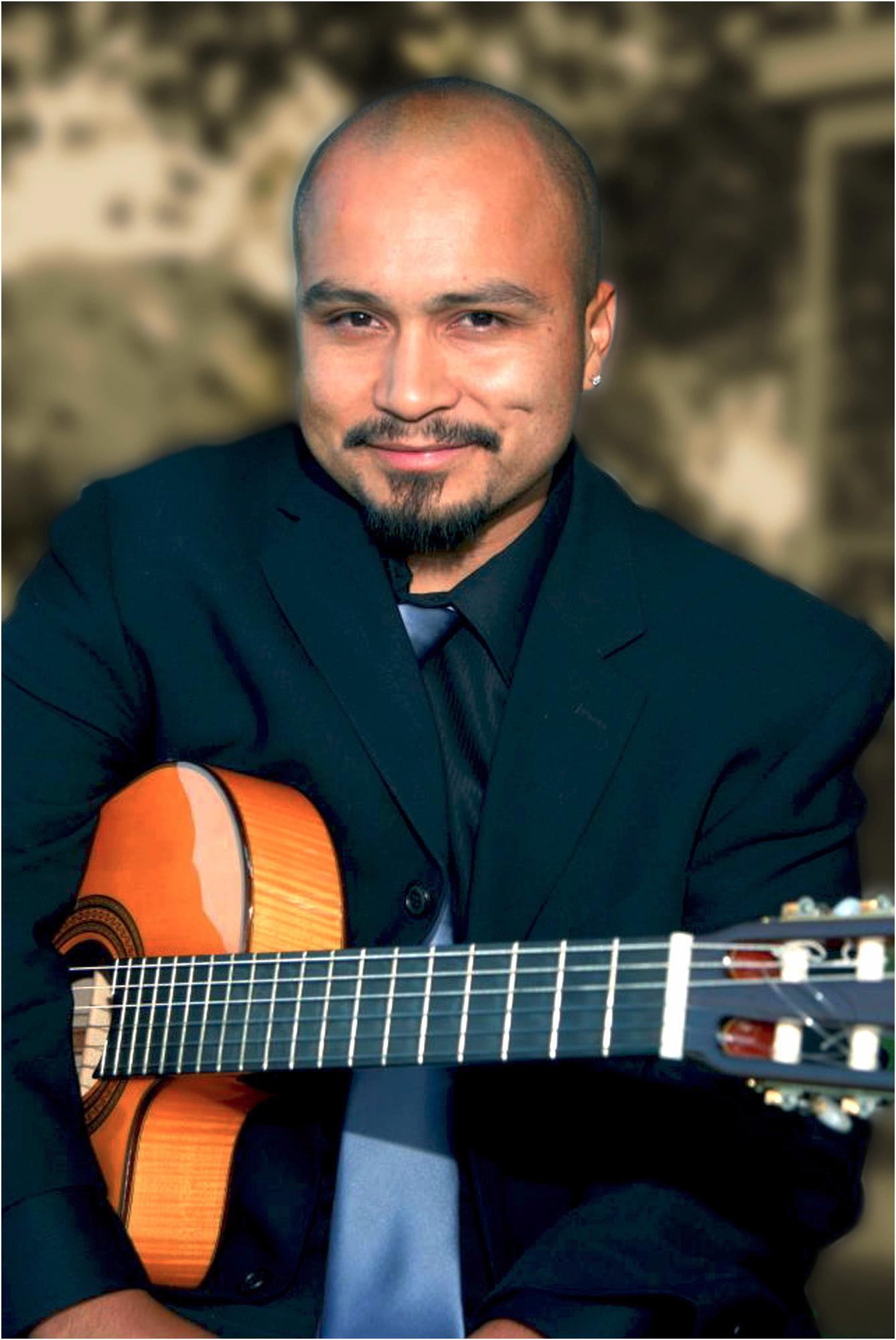 Rico Espinoza provides Spanish guitar music for weddings in Los Angeles and southern California