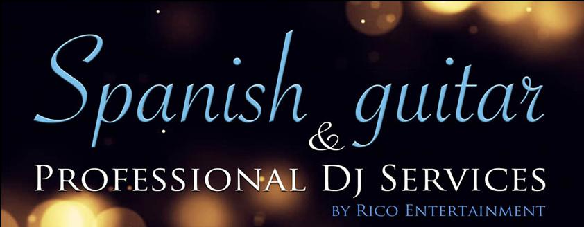 Spanish guitar music for your wedding and event by Rico Espinoza